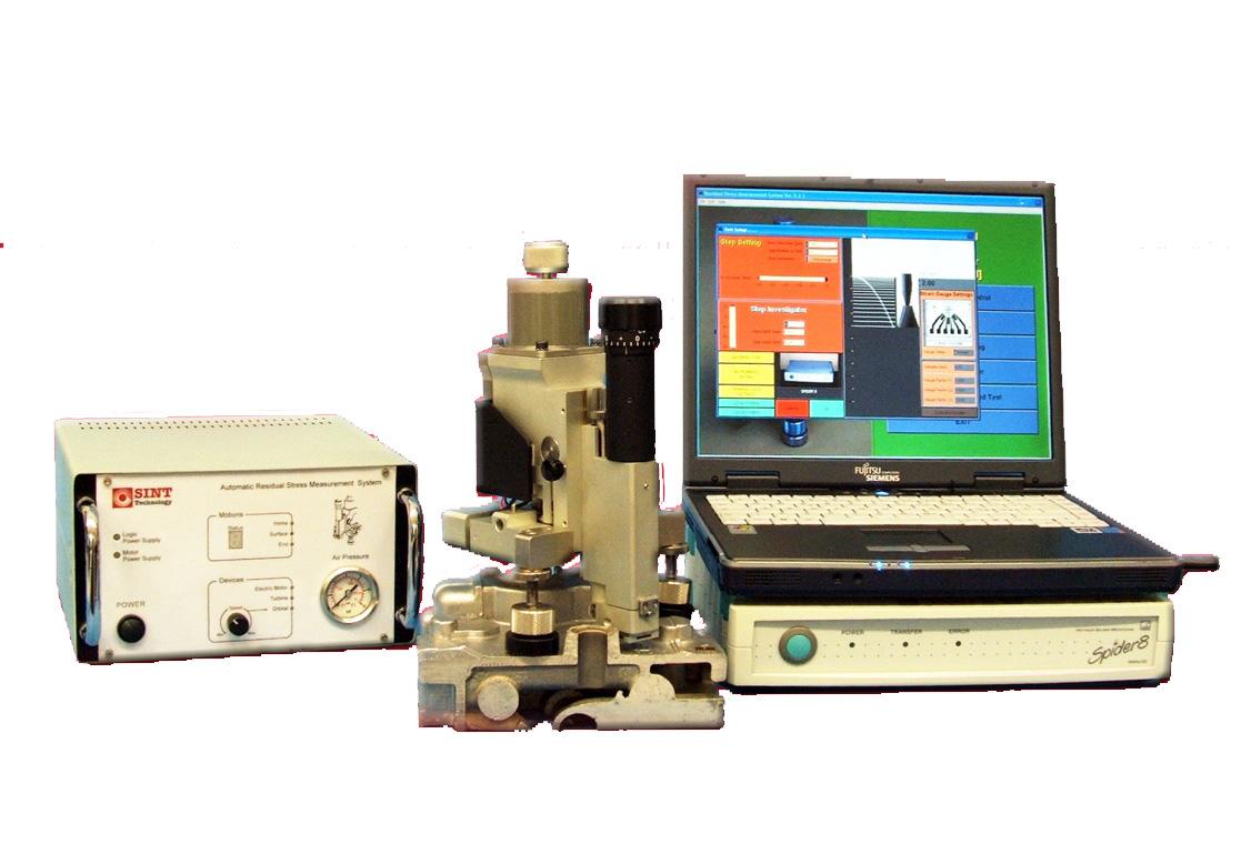 检测设备-全自动盲孔法应应力仪(意大利SINT公司产)